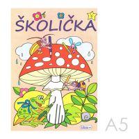 Omalovánka A5 Litera - Školička