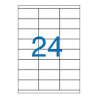 Etikety, univerzálne, 70x36 mm, VICTORIA, 2400 etikiet/bal