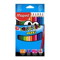 "Pastelky MAPED ""COLOR'PEPS Maxi hrubé 12ks"