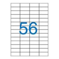Etikety, univerzálne, 52,5x21,2 mm, VICTORIA, 5600 etikiet/bal