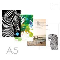 Kniha záznamní linkovaná A5 (144-listová)