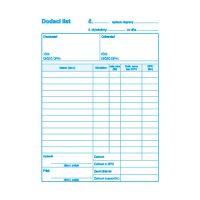 Dodací list s DPH A5, samoprepis (9) / OMI 550