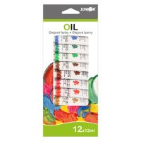 Barvy olejové 12ml x12 ks JUNIOR