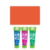 Akrylová barva JUNIOR 120 ml rumělka 324