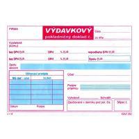 Výdajový pokladní doklad 2XDPH samoprepis (292)
